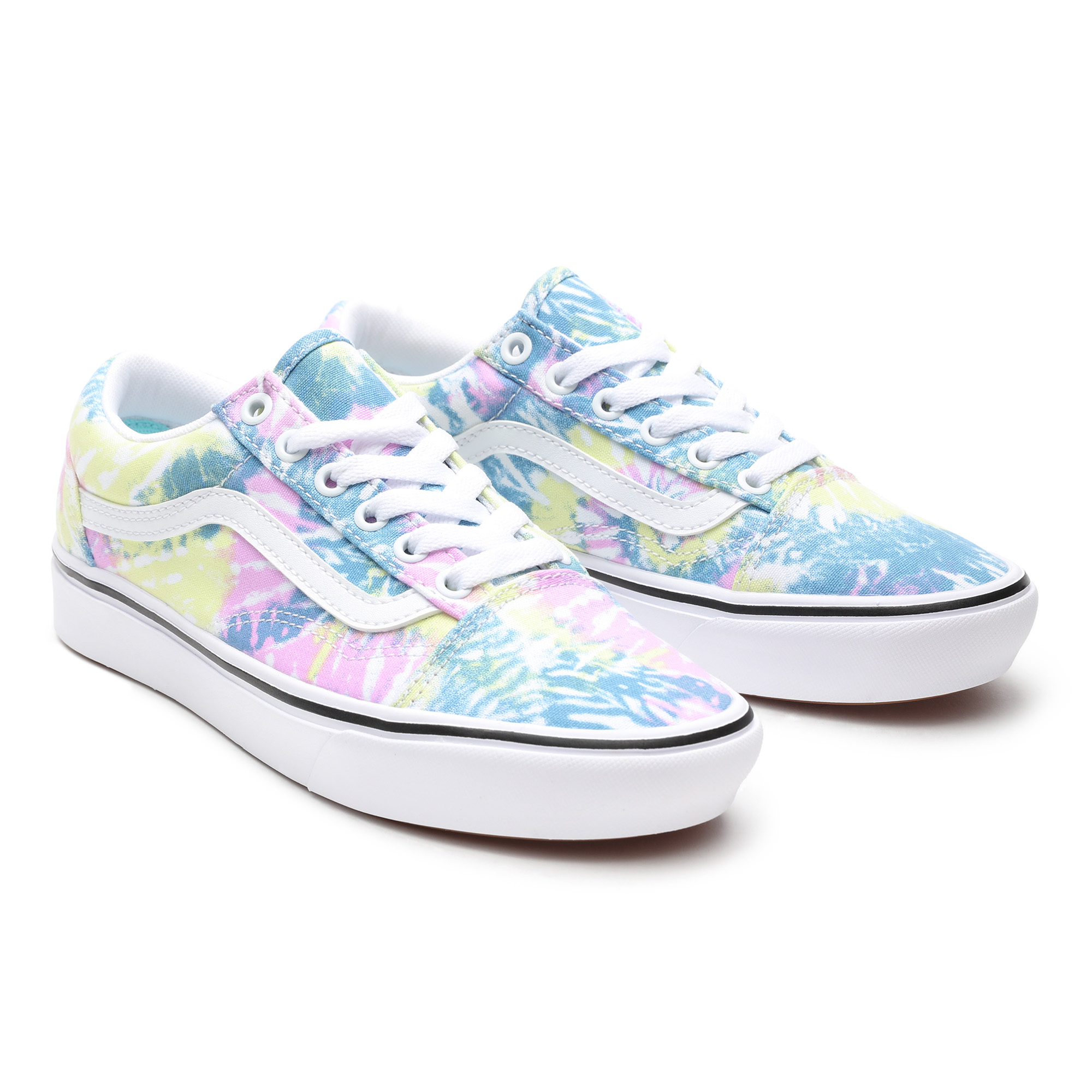 Кеды Tie Dye ComfyCush Old Skool