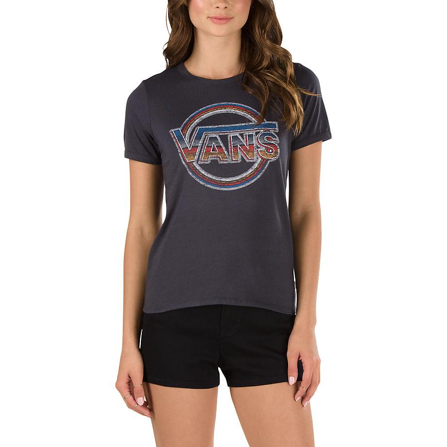 Футболка Radio WavesФутболки<br>Radio Waves Ringer T-Shirt – футболка из 100% хлопка-джерси с разноцветным логотипом спереди. Рост модели 175 см. Размер: S.<br><br>Цвет: Серый<br>Размер INT: XS<br>Материал: 100% хлопок<br>Пол: Women