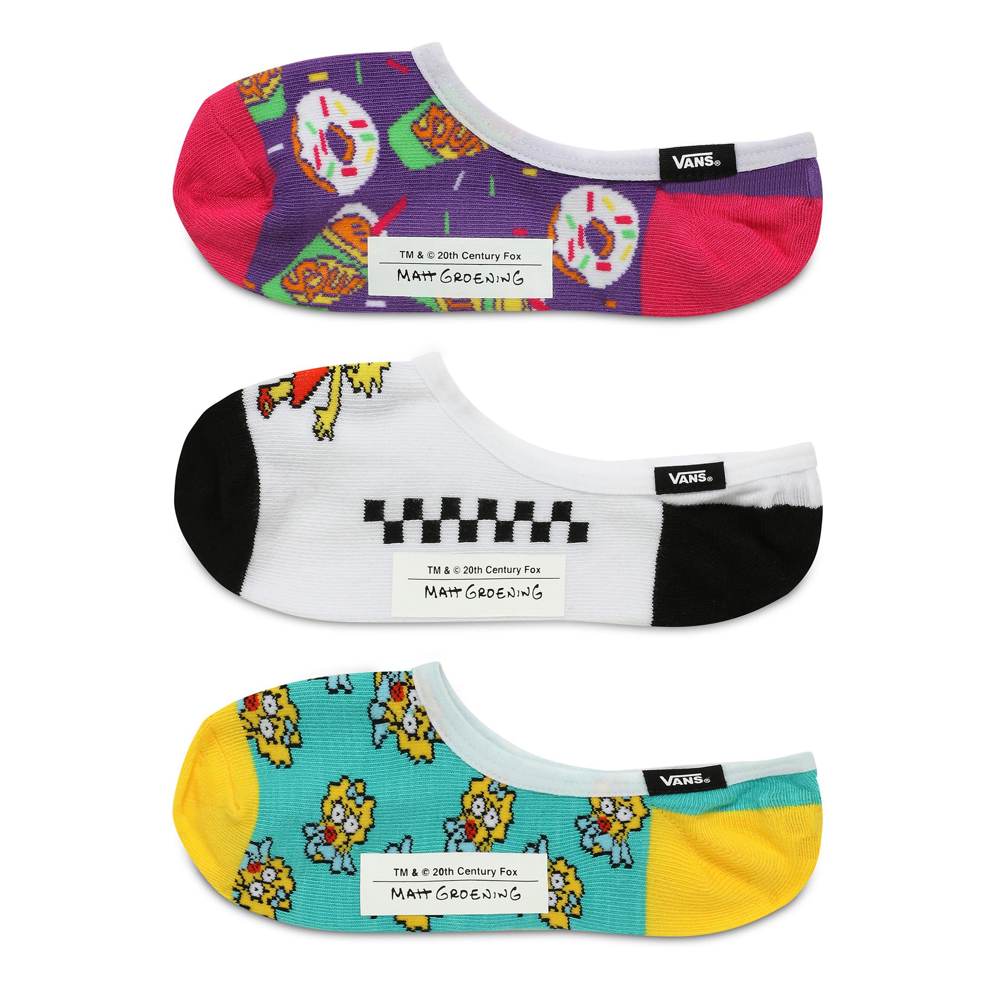 Носки Vans X The Simpsons Family Canoodles (3 шт.)