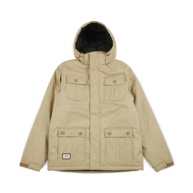 Куртка Mixter IIКуртки<br>Vans The Mixter II - это осенняя куртка из 100% полиэстера, с четыремя карманами и подкладкой из 100% полиэстера<br><br>Цвет: Зеленый<br>Размер INT: L<br>Материал: 100% полиэстер Подкладка 100% полиэстер, наполнитель100% полиэстер<br>Пол: Men