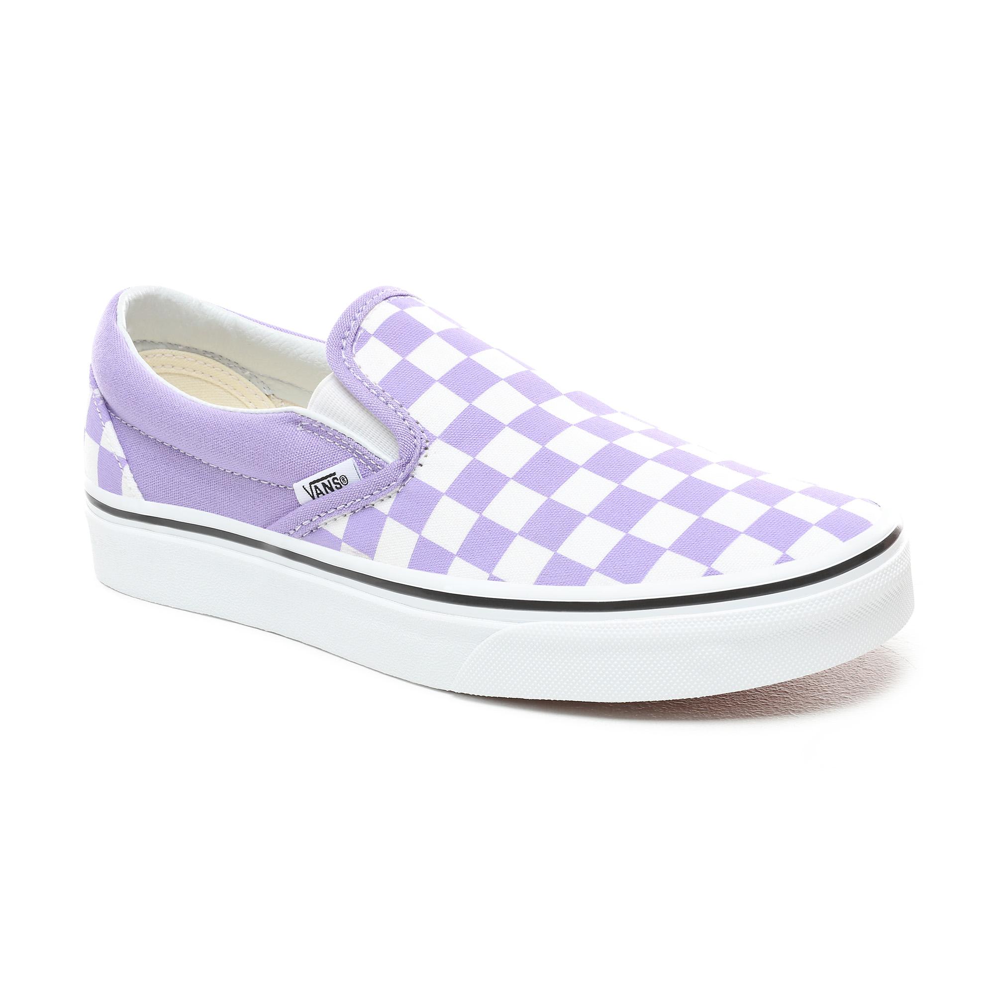 Фото 4 - Кеды Classic Slip-On фиолетового цвета