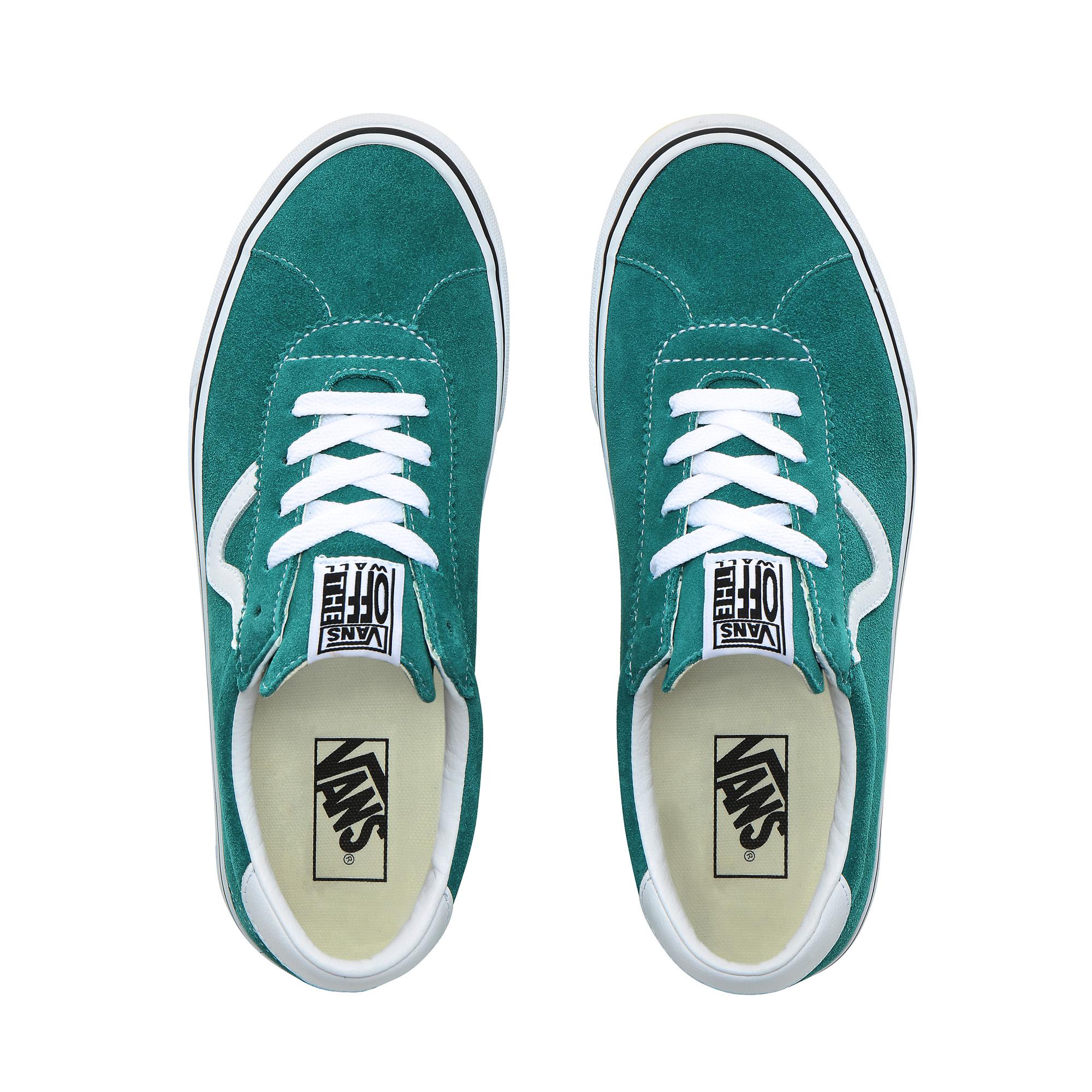 Фото 2 - Кеды Vans Sport зеленого цвета