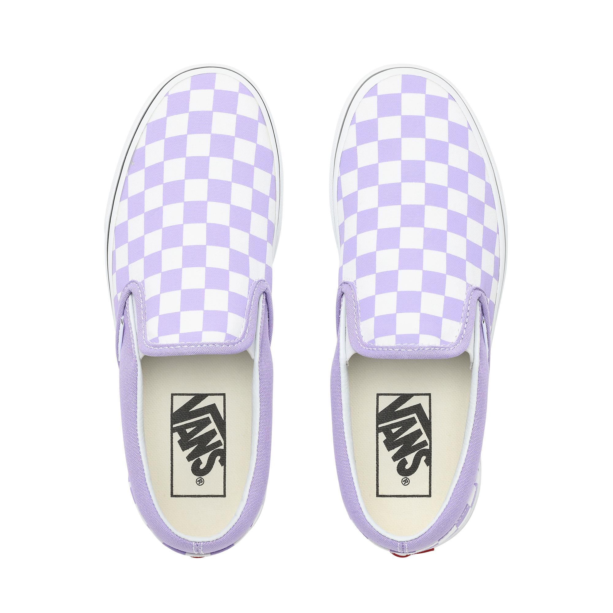 Фото 2 - Кеды Classic Slip-On фиолетового цвета