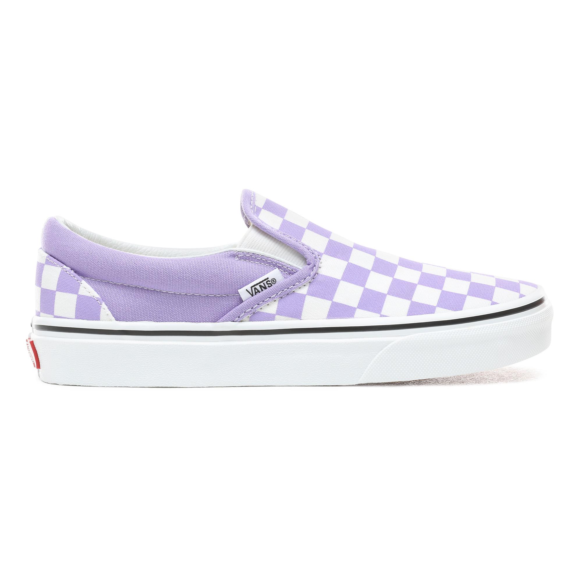 Фото - Кеды Classic Slip-On фиолетового цвета