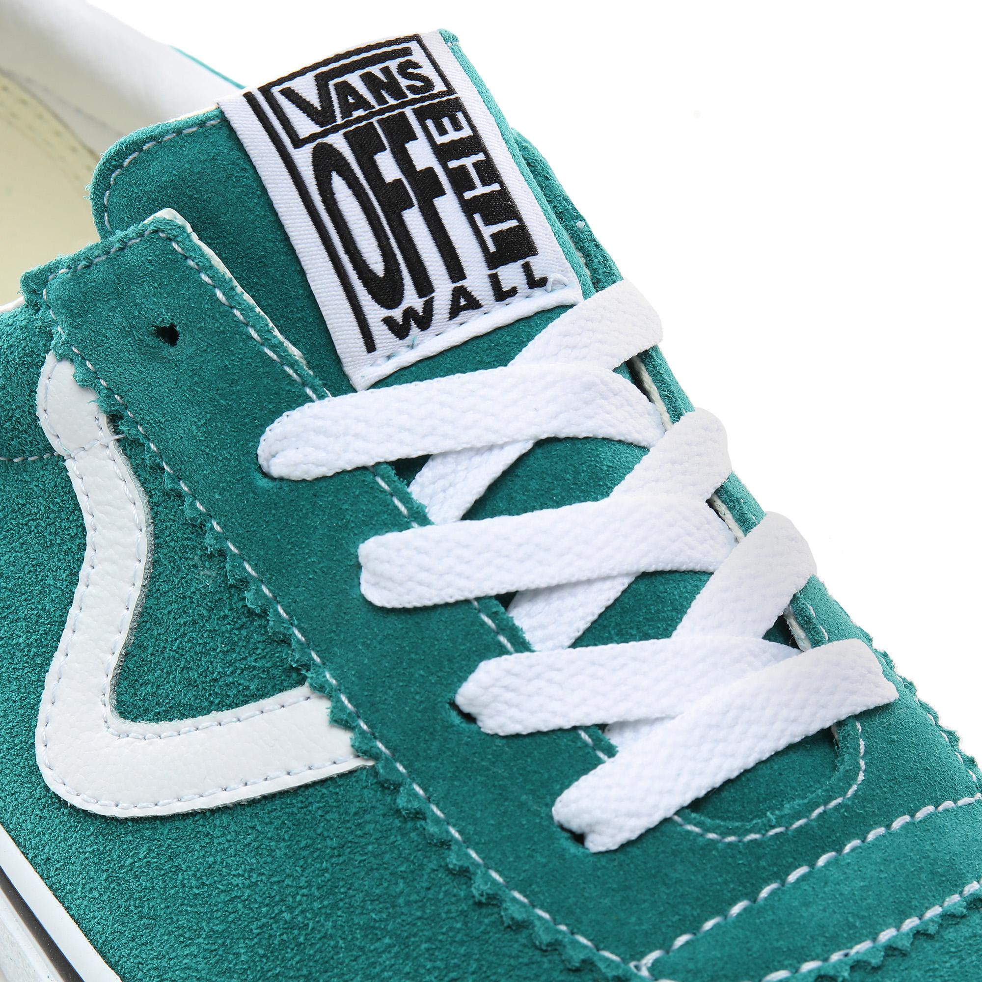 Фото 7 - Кеды Vans Sport зеленого цвета