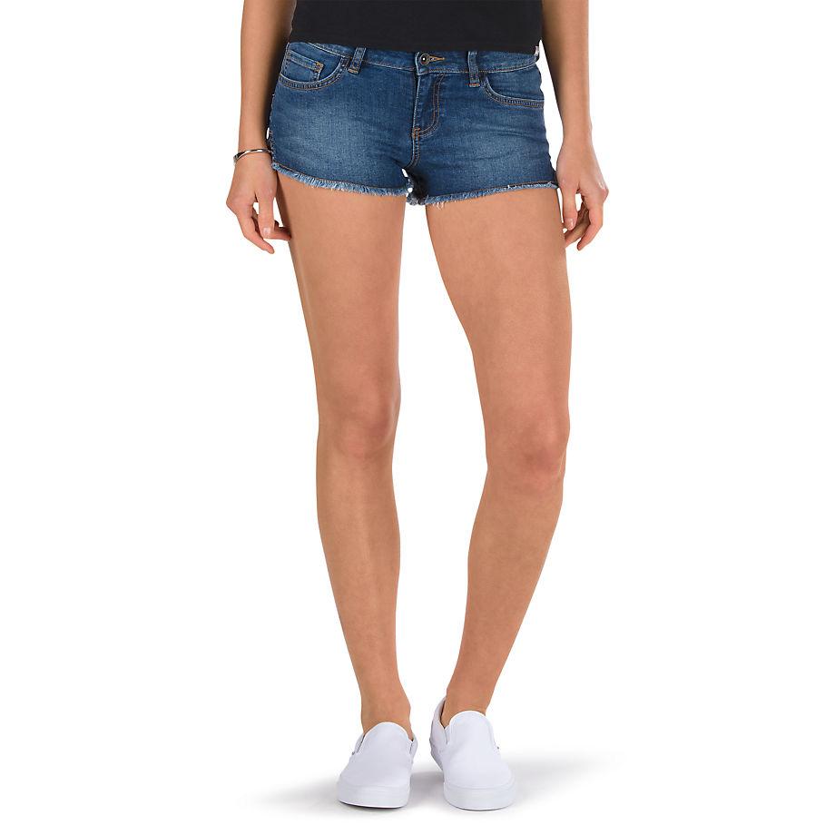 Шорты Destroy Mini IIШорты<br>Destroy Mini Jean Short – ультракороткие обрезанные шорты в обтяжку, с разрезами по бокам. Низкая посадка на талии. Рост модели 175 см. Обхват талии: 55 см. Размер: S. Состав: 98% хлопок, 2% эластан.<br><br>Цвет: Синий<br>Размер US: 7<br>Материал: 98% хлопок, 2% эластан<br>Пол: Women