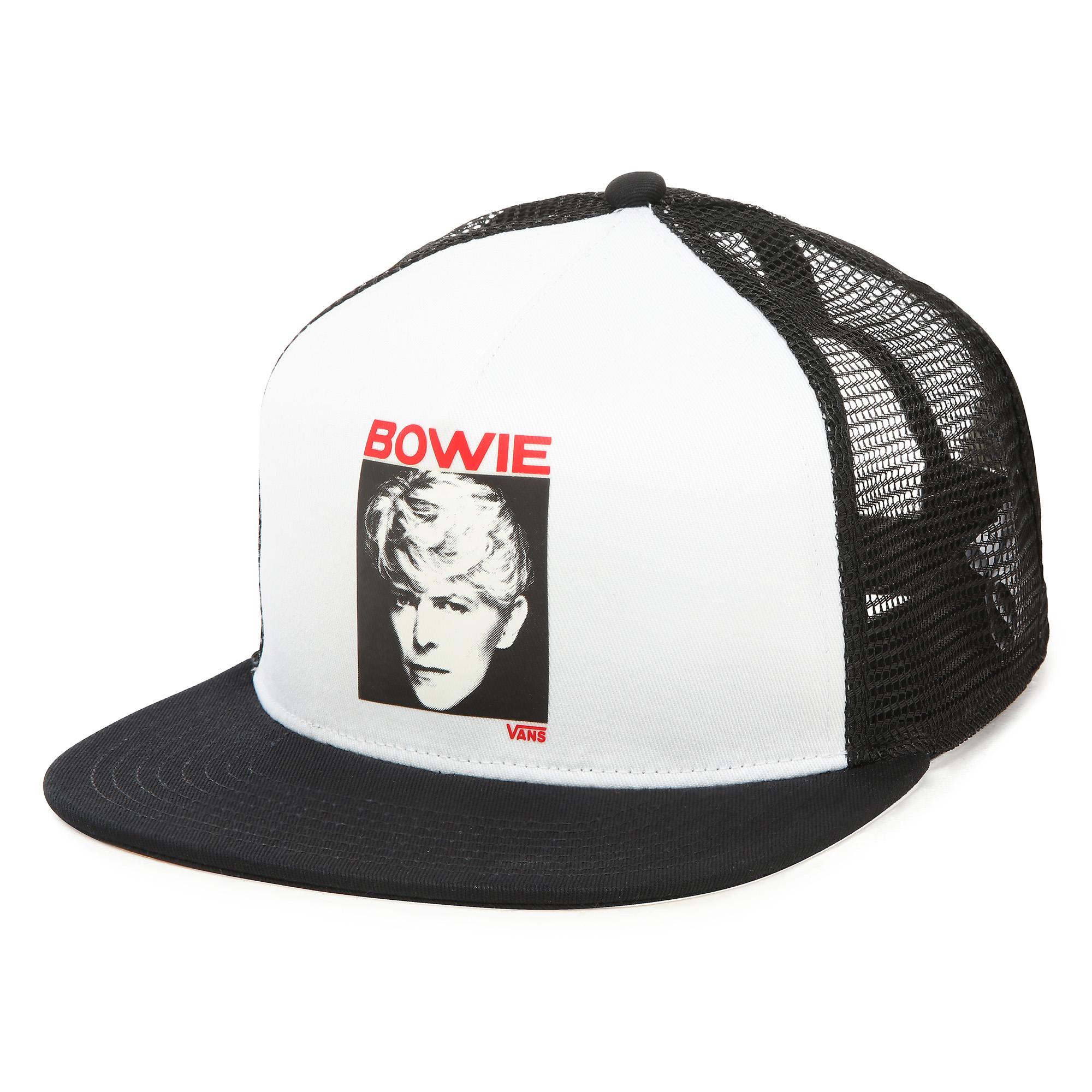 Фото 3 - Кепка David Bowie цвет белый/черный