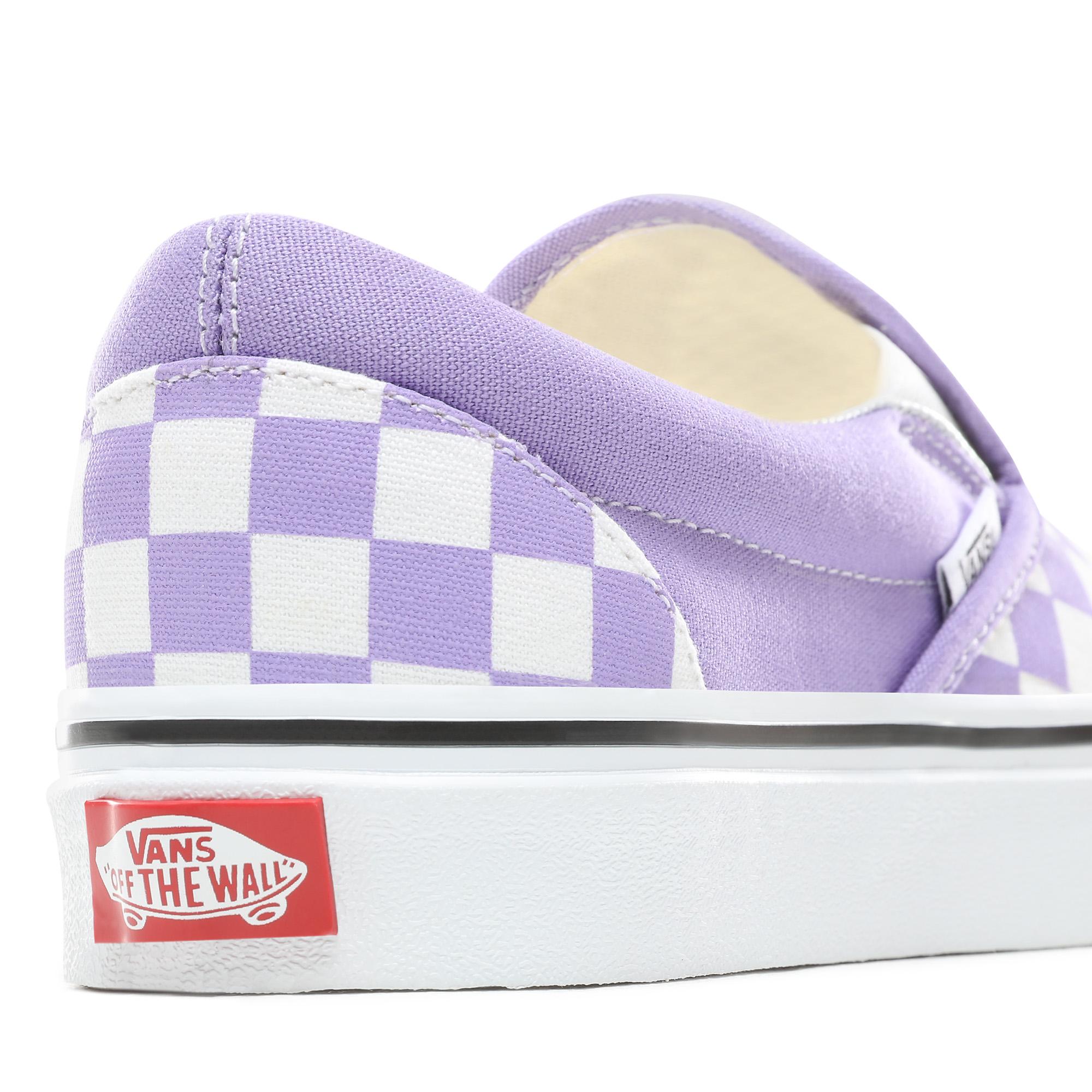Фото 6 - Кеды Classic Slip-On фиолетового цвета