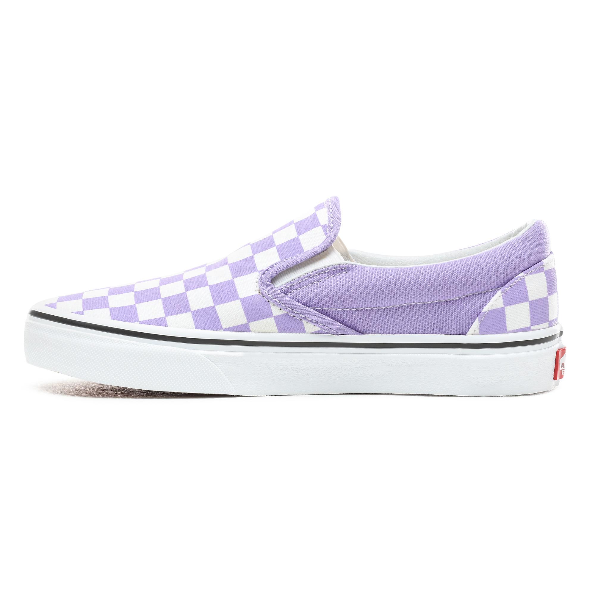 Фото 3 - Кеды Classic Slip-On фиолетового цвета