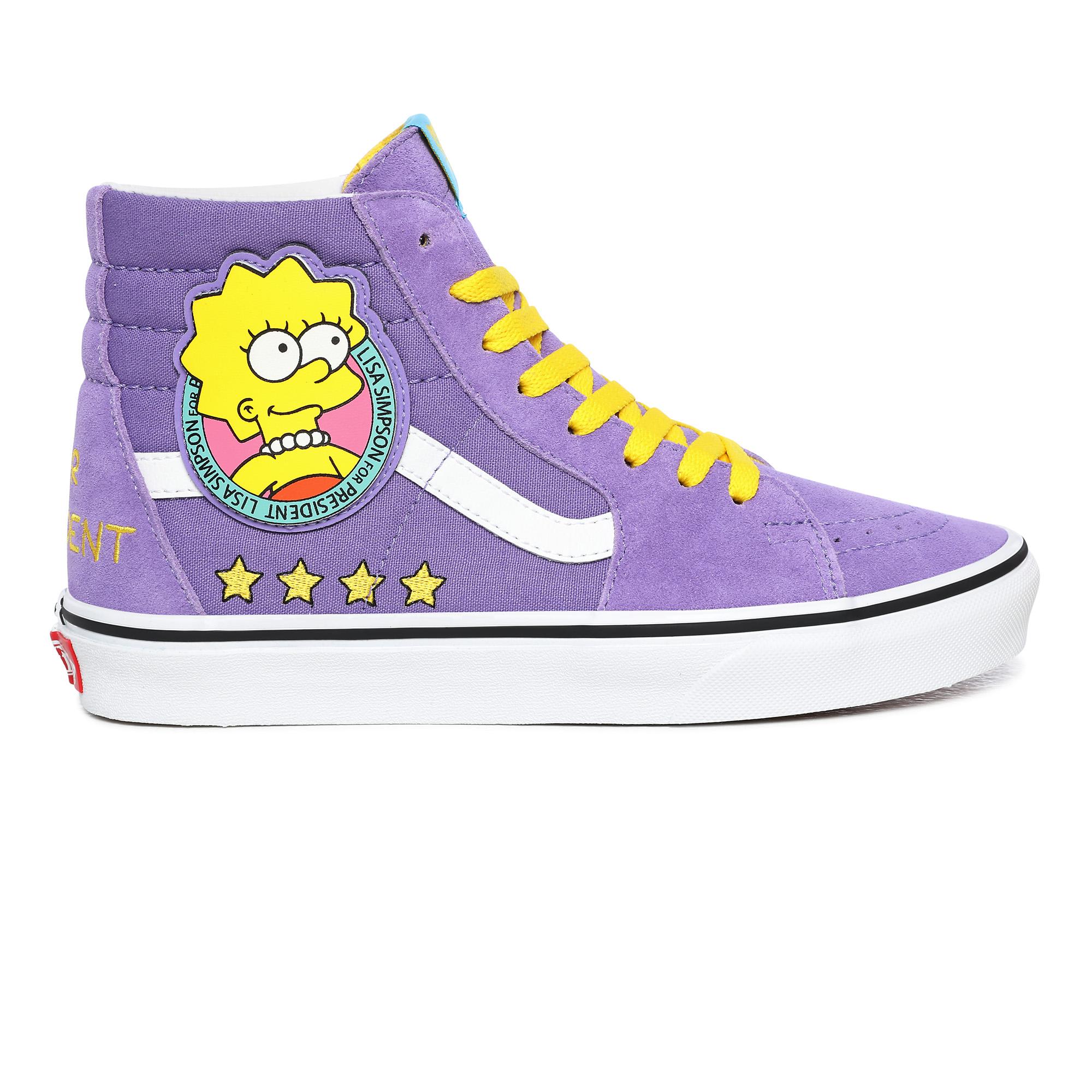 Высокие кеды Vans X The Simpsons Liza