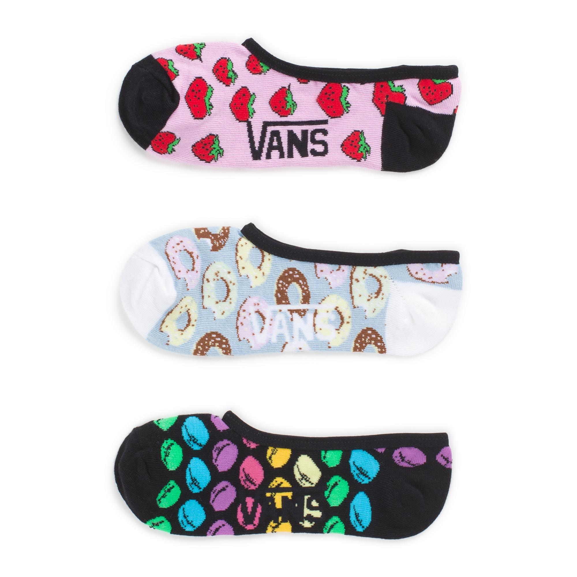Носки Midnight Snack Pack Canoodles Socks (упаковка по 3 пары)