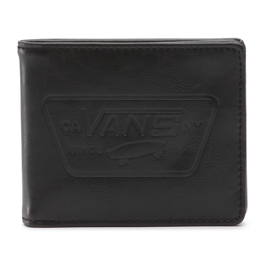 Бумажник FULL PATCH BIFOLD VANS. Цвет: черный