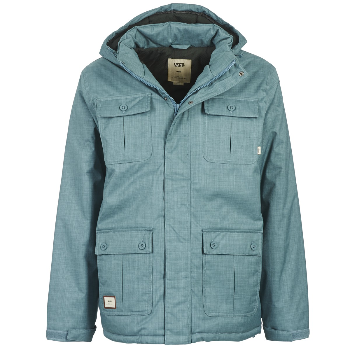 Куртка Mixter IIКуртки<br>Vans The Mixter II - это осенняя куртка из 100% полиэстера, с четыремя карманами и подкладкой из 100% полиэстера<br><br>Цвет: Синий<br>Размер INT: M<br>Материал: 100% полиэстер Подкладка 100% полиэстер, наполнитель100% полиэстер<br>Пол: Men