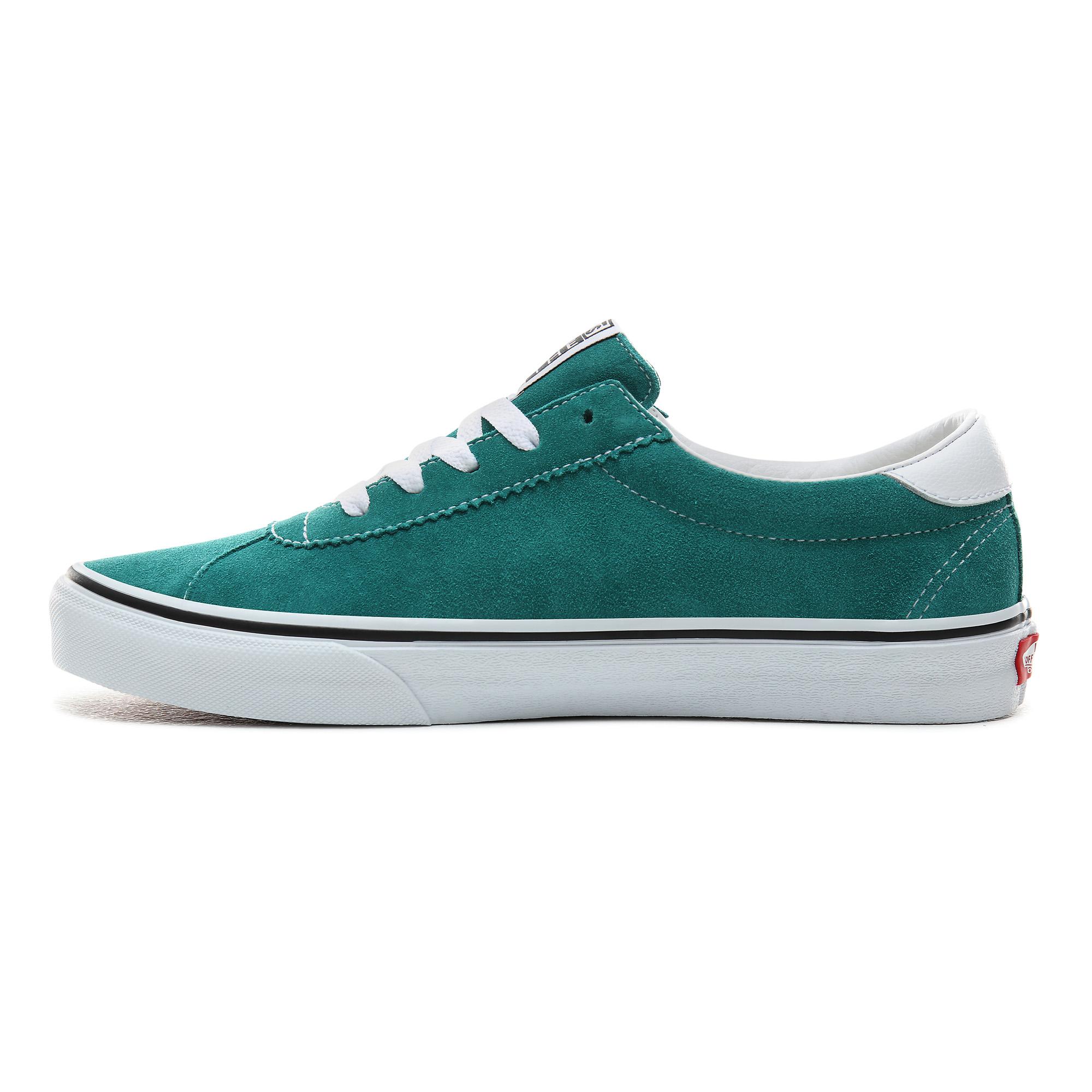 Фото 3 - Кеды Vans Sport зеленого цвета