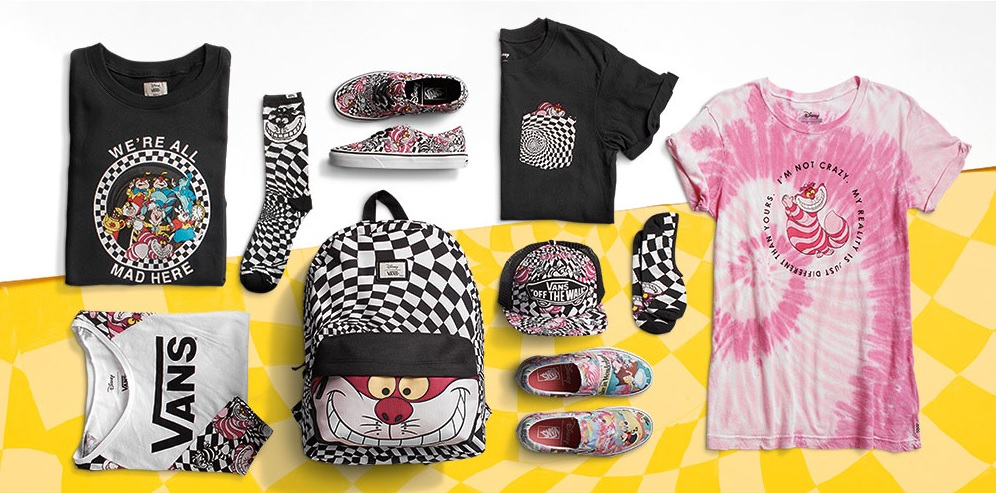 Vans Disney collection Russia