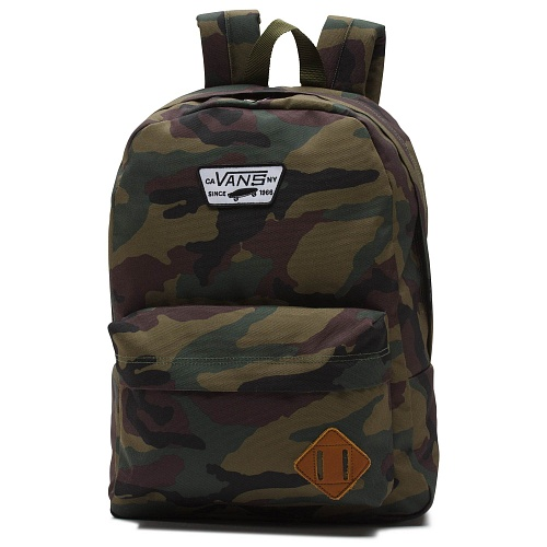 3d43cd3307a5 Рюкзак Old Skool II V00ONI97I, цвет Зеленый - интернет-магазин VANS