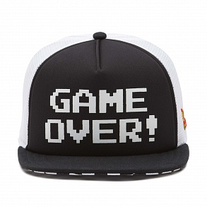 Кепка Nintendo Game Over VYZCKK9, Цвет: Принт Game Over черный
