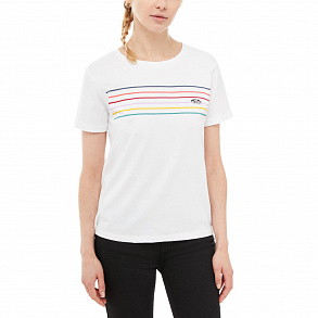 Футболка Party Stripe VA3JE4WHT, Цвет: Белый