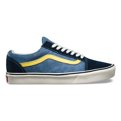 Кеды Reissue Old Skool Lite V4O6IUH, Цвет: синий/желтый